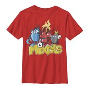 Mixels t-shirt red
