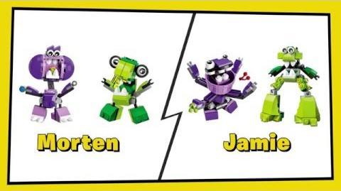 LEGO® Mixels 13 - Super Tall Chomper Mix - Designer Challenge