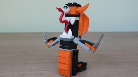 LEGO MIXELS SERIES 9 COBRAX LEGO 41575 NINDJAS