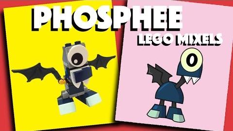 LEGO Mixels - Phosphee - Stop Motion Build