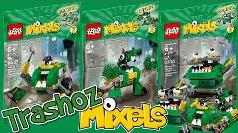 LEGO Mixels Series 9 TRASHOZ Tribe Sets REVIEW!