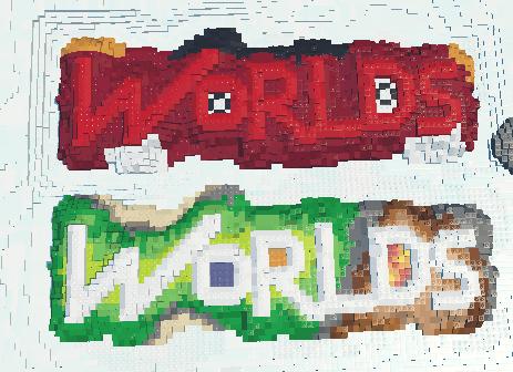 Image - 2 LEGO Worlds models mods LEGO Worlds logo as Burnard and ...