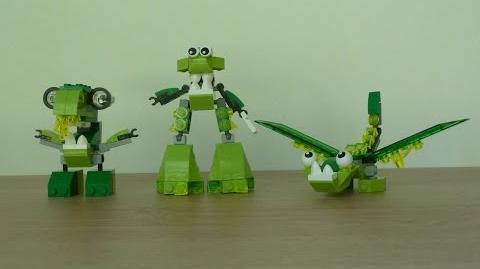 LEGO MIXELS SERIES 6 GLORP CORP Dribbal Gurggle Slusho Glorp Corp Max