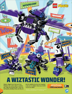 The Wiztastics on LEGO Club Magazine