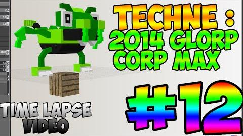 Mixel Modeling - 2014 Glorp Corp MAX (Time Lapse Video)