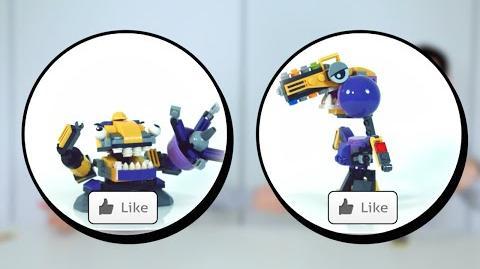 LEGO Mixels 11- Eating-machine Fruit Mix - Designer Challenge