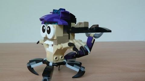 LEGO MIXELS SCORPI and WIZWUZ MURP with Lego 41522 and Lego 41526 Mixels Serie 3