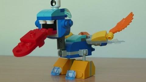LEGO MIXELS SNOOF TUNGSTER MIX Lego 41541 Lego 41544 Mixels Serie 5