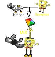 Krader and Spongebob MIX
