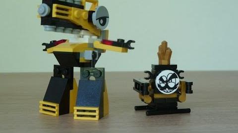 LEGO MIXELS WUZZO LEGO 41547 Weldos Mixels Series 6