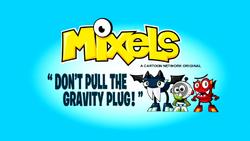 Gravity Plug title