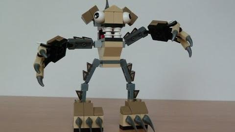 LEGO MIXELS FOOTI and HOOGI MURP with Lego 41521 and Lego 41523 Mixels Serie 3