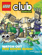 On LEGO Club Junior Magazine Spetember-October