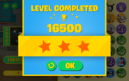 MYN Level Completed Screen