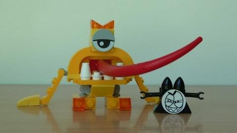 LEGO MIXELS TURG LEGO 41543 Lixers Tribe Mixels Serie 5
