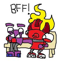 Pozo's BFF!