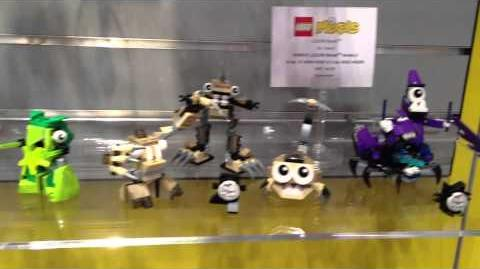 Lego Mixels - Toy Fair 2014