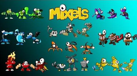 Calling All Mixels - The Mixels Animation!