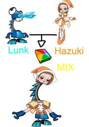 Lunk and Hazuki MIX