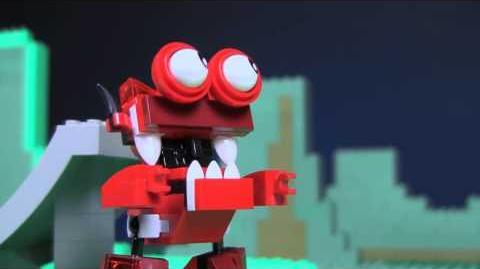 Niksput and Burnard Mix - LEGO Mixels - Stop Motion Episode 10