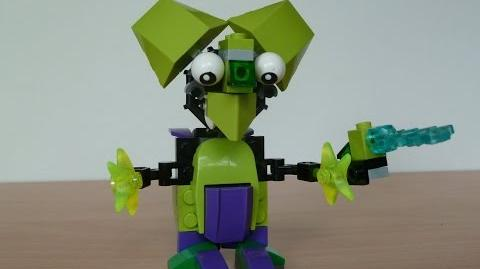 LEGO MIXELS TORTS and WIZWUZ MURP with Lego 41520 and Lego 41526 Mixels Serie 3