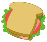 Complete Hamlogna Sandwich