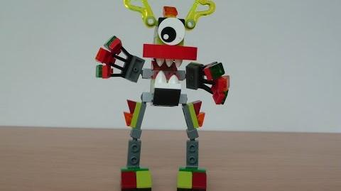 LEGO MIXELS GLOMP and VULK MIX or MURP ? With Lego 41518 and Lego 41501