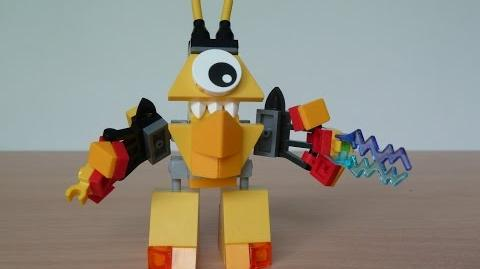 LEGO MIXELS VULK and TESLO MIX with Lego 41501 and Lego 41506 Mixels Serie 1