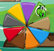 Glomp in Mixels Pie Graph