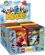 Mixels Series 1 Display Box