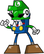 PD Cartoon Luigi