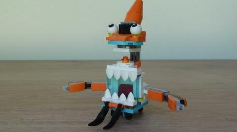 LEGO MIXELS SKRUBZ TENTRO MIX or MURP? Instructions Lego 41570 Lego 41516
