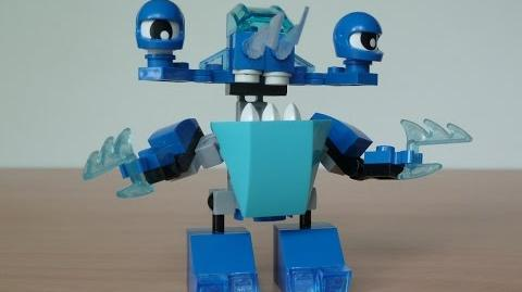 LEGO MIXELS SLUMBO and LUNK MIX with Lego 41509 and Lego 41510 Mixels Serie 2