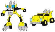 Cyber Footi Bumblebee