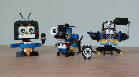 LEGO MIXELS SERIES 9 NEWZERS Screeno Camsta Myke Newzers MAX