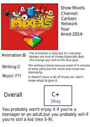 Mixels report card outdated i now really like it by thepalsfrompaltown-d7wgnsy.png