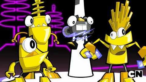 Electrorock Mixels Cartoon Network