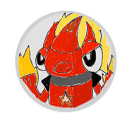 Forestfire Flain Silver Badge