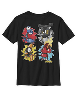 Mixels Mix Four Boys Graphic T Shirt
