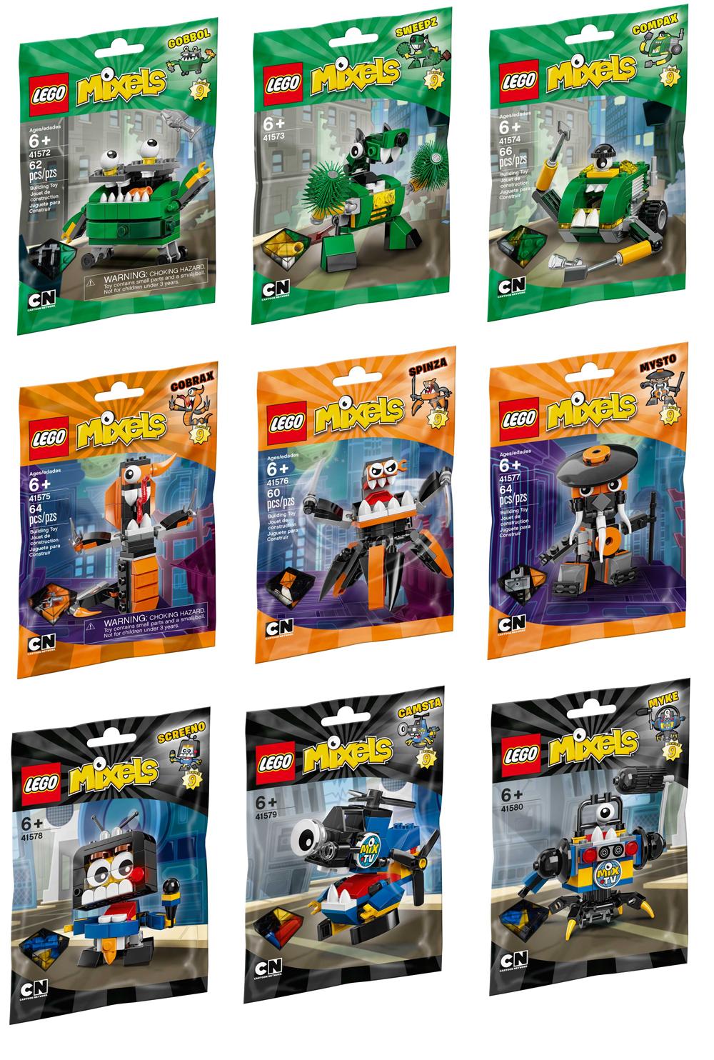 Lego Mixels Wave 1 Krader 41503