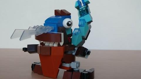 LEGO MIXELS LUNK and GOBBA MURP with Lego 41510 and Lego 41513 Mixels Serie 2