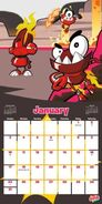 Mixel calendar 2