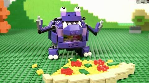 LEGO® Mixels - Episode 15 - The Munchos MAX are out to lunch! Stop Motion