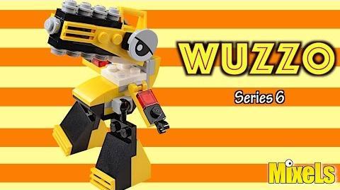 Lego Mixels Wuzzo Lego stop motion animation build