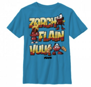 ZorchFlainVulk named shirt
