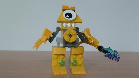 LEGO MIXELS TESLO and VOLECTRO MURP with Lego 41506 and Lego 41508 Mixels Serie 1