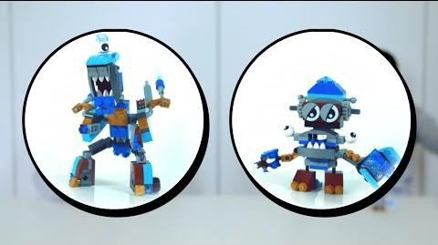 LEGO® Mixels 9 - Snow Machine Steam Mix - Designer Challenge-0