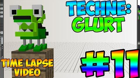 Mixel Modeling - Glurt The Glorp Corp Mixel (Time Lapse Video)