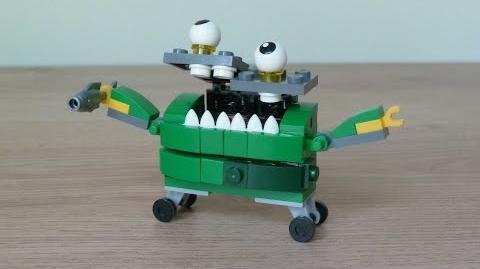 LEGO MIXELS SERIES 9 GOBBOL LEGO 41572 TRASHOZ