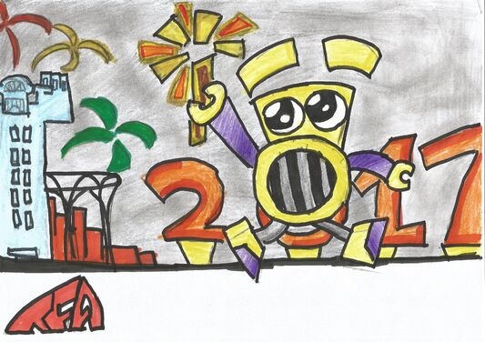Happy 2017 Year! TFA